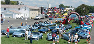 Corvettes at Carlisle 2011