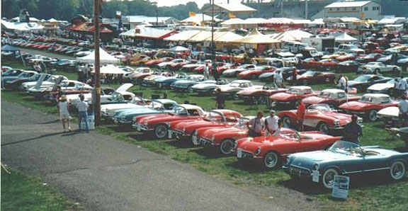 SACC Display Corvettes @ Carlisle