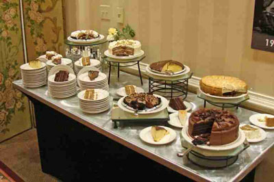 2008 SACC Convention - Harrisburg/Hershey, PA - Dessert Table