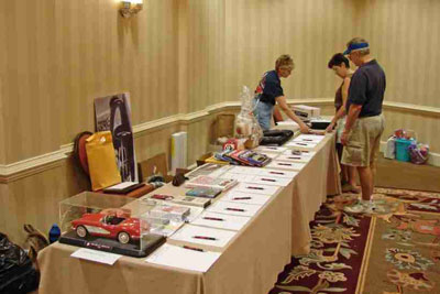 2008 SACC Convention - Harrisburg/Hershey, PA - Silent Auction Display